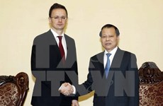 Deputy PM welcomes Hungarian foreign, trade minister