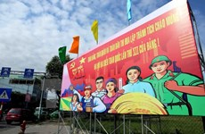 China media cover Vietnam's preparations for National Party Congress