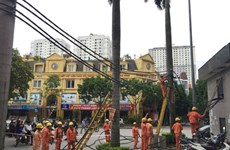 Hanoi to finish underground power cable network in 2016