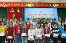 Taiwanese organisation helps disadvantaged children in Quang Tri