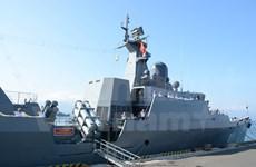 Vietnamese navy frigate visits Singapore
