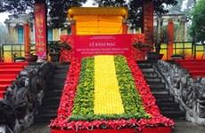 Spring festival opens at Thang Long Citadel