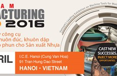 Hanoi to host Manufacturing Expo 2016