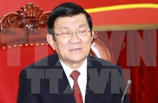 President pays pre-Tet visit to Long An