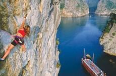 Cat Ba cliffs and rock-climbing enthusiasts, a heavenly match