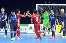 Vietnam upset Japan in futsal