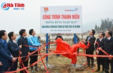 Youth launch Tree Planting Festival in Ha Tinh