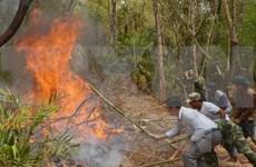 Dry weather raises fire alert across nation