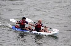 Da Nang opens Kayak racing competition