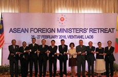 ASEAN Foreign Ministers' Retreat 2016 opens in Vientiane