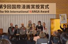Vietnam's artists receive silver at Japan's International Manga Award