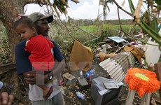 Leaders condole with Fiji over typhoon disaster