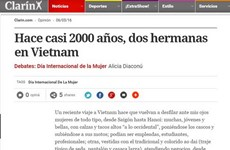 Vietnamese women spotlighted on Argentine media