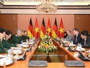 German defence secretary active in Vietnam