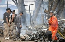 Two killed, five injured in southern Thailand bombing