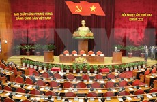 Party Central Committee closes second meeting