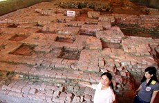 More architectural works and objects found in Go Thap