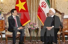 Vietnamese, Iranian Presidents hold talks