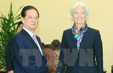PM assures IMF chief about Vietnam's continued reform