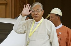 Myanmar elected president submits proposal plan on new cabinet