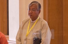 Myanmar parliament approves government formation proposal