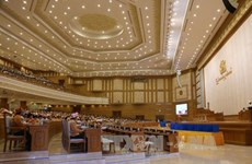 Myanmar parliament approves cabinet nominees