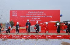 Nestlé Vietnam builds 70-mln-USD plant in Hung Yen