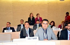 Vietnam delegation active at UNHRC's 31st session