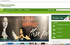 Charity to use web donation page