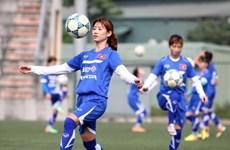 Women's football team falls in world ranking