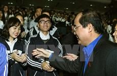Youth dialogue celebrates upcoming NA election