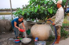 Belgium works with Mekong Delta on water purification, waste treatment