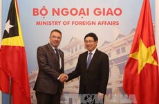 Vietnam, Timor Leste seek increased cooperation
