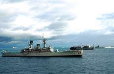 Over 30 countries join naval exercise in Indonesia