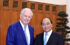 Prime Minister meets Harvard University professor