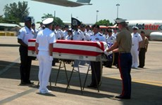 Remains of US serviceman repatriated