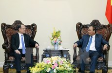 Prime Minister welcomes Hong Kong group's top executive