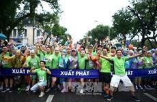 Vietnam News Agency organises run for Mother Earth Day