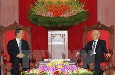Vietnam values ties with Guangxi: Party chief