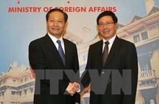 Deputy PM meets Party chief of Guangxi Zhuang autonomous region