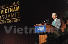 Vietnamese top diplomats meet Texas firms