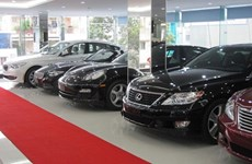 Import of automobiles in April declines