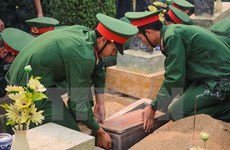 Thanh Hoa: remains of martyrs reburied