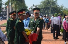 Gia Lai reburies remains of volunteer soldiers found in Cambodia