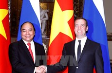 Prime Minister holds talks with Russian counterpart