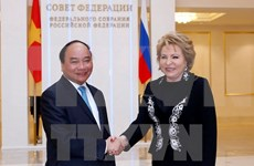 Prime Minister urges stronger legislative ties with Russia