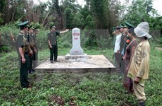 Project on fostering Vietnam-Laos border management reviewed