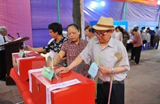 National Assembly election begins nationwide