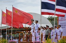 Thailand, China start joint military exercise