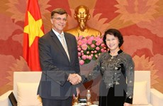 NA Chairwoman meets Australian Ambassador